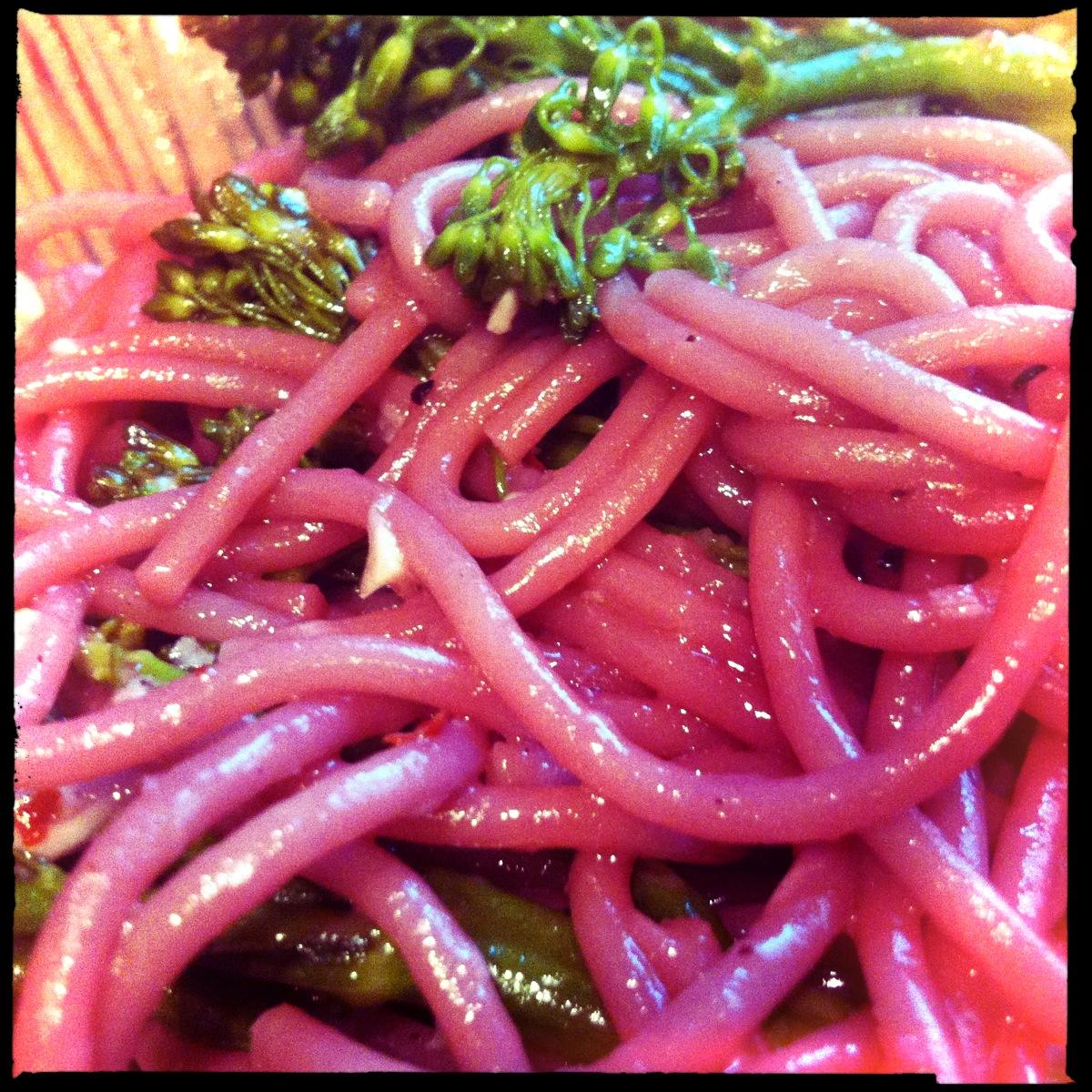 Zinfandel Spaghetti